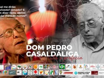 Homenagem a dom Pedro Casaldáliga e compromisso em seguir à causa da justiça