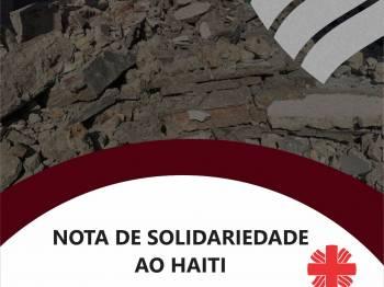 Nota de Solidariedade da Cáritas Brasileira ao Haiti