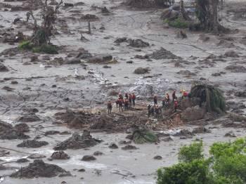 Atingidos pela Samarco (Vale e BHP) de Mariana e Barra Longa denunciam a contaminação