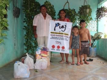 Programa de infância e juventude da Cáritas Ceará assegura alimentação de famílias