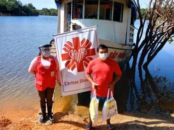 Entrega de Kits de higiene no Amazonas reforça o acesso aos cuidados durante a Covid-19