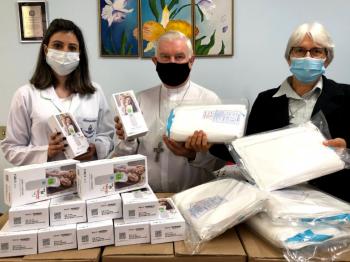 Papa Francisco envia equipamentos hospitalares e EPIs para hospital na Diocese de Joaçaba