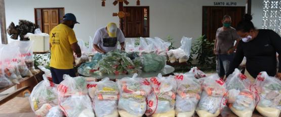 Projeto Alimentando Vidas no Marajó